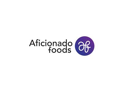 Aficianado abstract logo icon a letter logo typography abstract design branding vector illustration logo logo design food logo