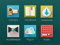 Icons for cloud