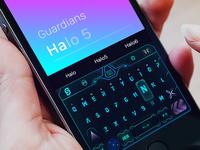 input keyboard for Halo5