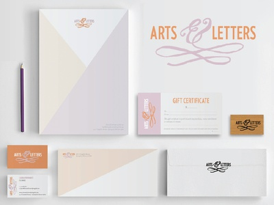 Arts & Letters Identity