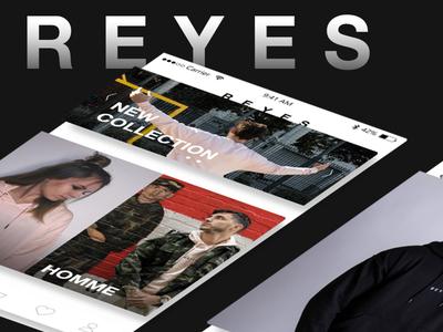 REYES - Mobile App   UX UI Design