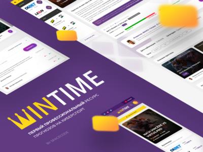 WINTIME — First e-sports prediction platform case