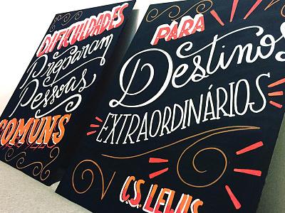 Lettering cs lewis lettering