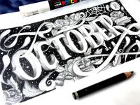 Lettering graphite