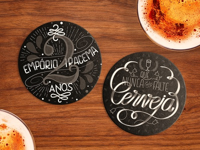 Drink Coasters for Bar bar coasters lettering