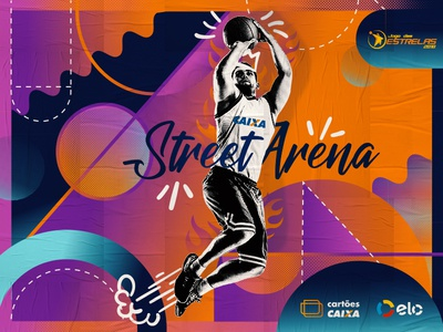 CAIXA Street Arena | Jogo das Estrelas NBB CAixa action live marketing brand activation sport basket basketball