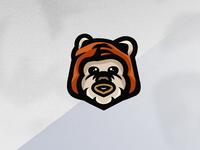 Ewok Mascot Logo