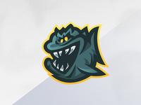 Fish Mascot Logo