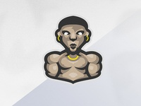 Fighter Mascot Logo!