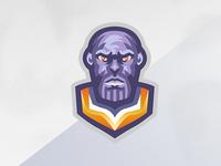 Thanos Mascot Logo!