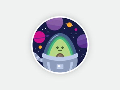 Avocode Sticker Design