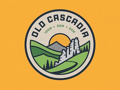 Old Cascadia sun tree wilderness running trail oregon cascadia
