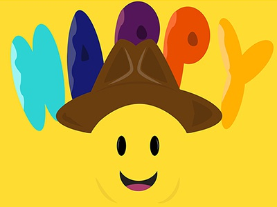 Pharrell happy design coverdribble