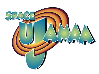 """Space Ujamaa"" Logo"