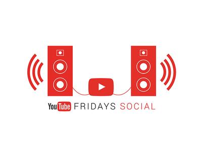 YouTube Friday Social Logo