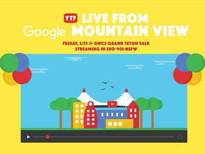 YTF @ Google MTV Invite