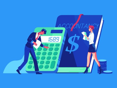 Accountancy ui illustration characters explainer video design character animation illustration accountancy