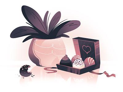 Pralines love day happy chocolates chocolate pralines