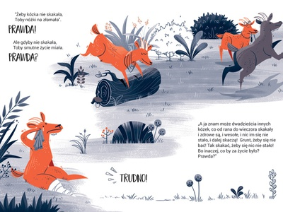 If the goat did not jump... typography hand-drawn animation illustrator design goats outline minimalistic book illustration illustration