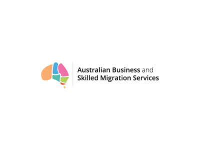 ABSMS Logo australia colourful corporate identity branding logo
