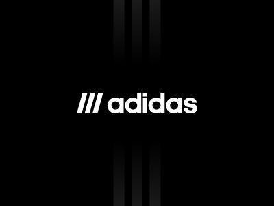 Adidas - Redesign adidas originals three stripes stripes nmd figma minimal sports adidas exploration brand identity concept branding brand logo