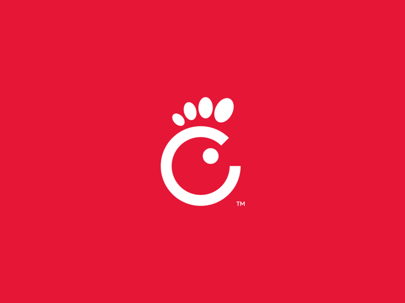 Chick-Fil-A product design fast food chickfila redesign concept food redesign minimal logotype figma exploration brand identity branding brand logo