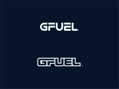 Another GFUEL Concept unfold brand identity clean product drink sports gaming gfuel minimal figma exploration brand logo branding