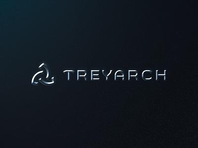 Treyarch Logo Redesign 3d esports minimal mark triquetra logotype treyarch agency studio gaming call of duty figma brand identity exploration branding brand logo