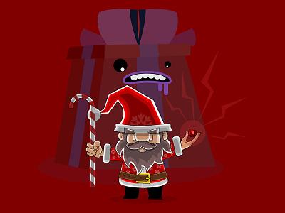 Jingle Roll dungeonsanddragons nerd geek wizard critical d20 die dice jinglebells jingle santaclaus santa
