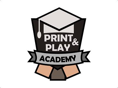 Print And Play Academy Logo card free android app utility boardgame game logo printandplay academy play print