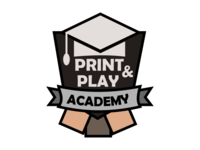 Print And Play Academy Logo