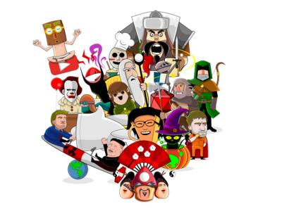 New Website illustration vector site web website new