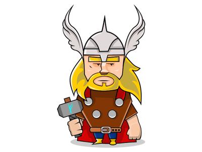 Thor viking valhallacircus valhalla thor norse god game circus cardgame card boardagame avengers