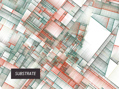 Substrate digital art computation color pattern