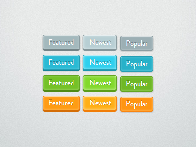 CSS Buttons button buttons styles css css3 raised 3d css only