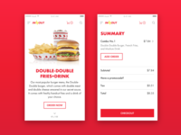 In-N-Out Concept - Web Mobile