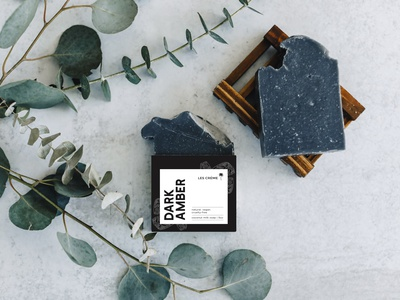 Les Creme Soap Label packaging mockup packaging design illustrator photoshop mockup soap skincare creative branding graphic design product design label design