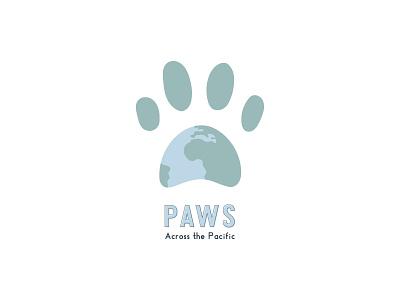 Paws Logo Concept vector dog logo dogs graphic design creative branding illustrator logo design logo draft logo concept