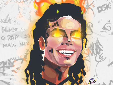 ;MJ'// michael jackson mj color design art designer designs design illustration art illustrations illustration illustraion illustrator vector illustration vector art vectorart vectors vector artwork artist art