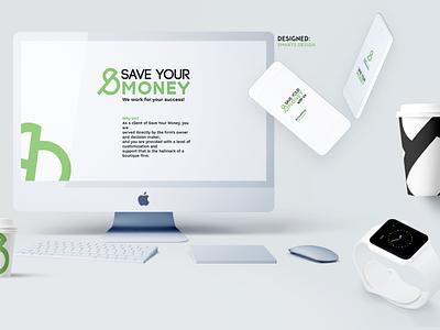 """Save Your Money"" color vector logo design logodesign logo illustration art illustrations illustraion illustrator designer design artwork artist art"