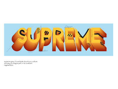 """supreme"" comics new york supreme logo color illustration art illustrator graphic design graphic 3d art vector illustration vectorart vector designer design artist artwork art"
