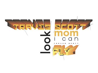 look mom i can fly comics logo color travis scott illustration illustration art illustraion illustrator vector illustration vector art vector graphic design graphic designer design artwork artist art