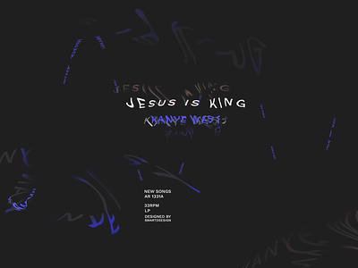 KANYE /JESUS IS KING/ jesus kanye west kanye logo color designer design cover artwork cover design cover photoshop illustration illustrator vector illustration vectorart vector artwork artist art
