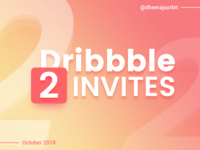 Two Dribbble Invites Giveaways