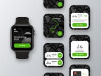 E-scooter rental - Watch App