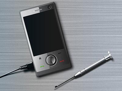 Phone repair phone metal