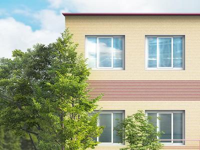 School school building