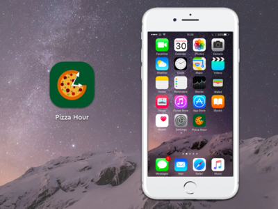 Daily Ui 005 - App Icon iphone pizza daily ui 005 daily ui app icon ui
