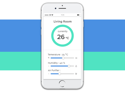 Daily UI 007 - Settings smart home webdesign design dailyui dailyui007 settings ui