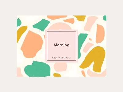 Cocoskies Creative Playlists happy colourful pink illustration label abstract art playlist